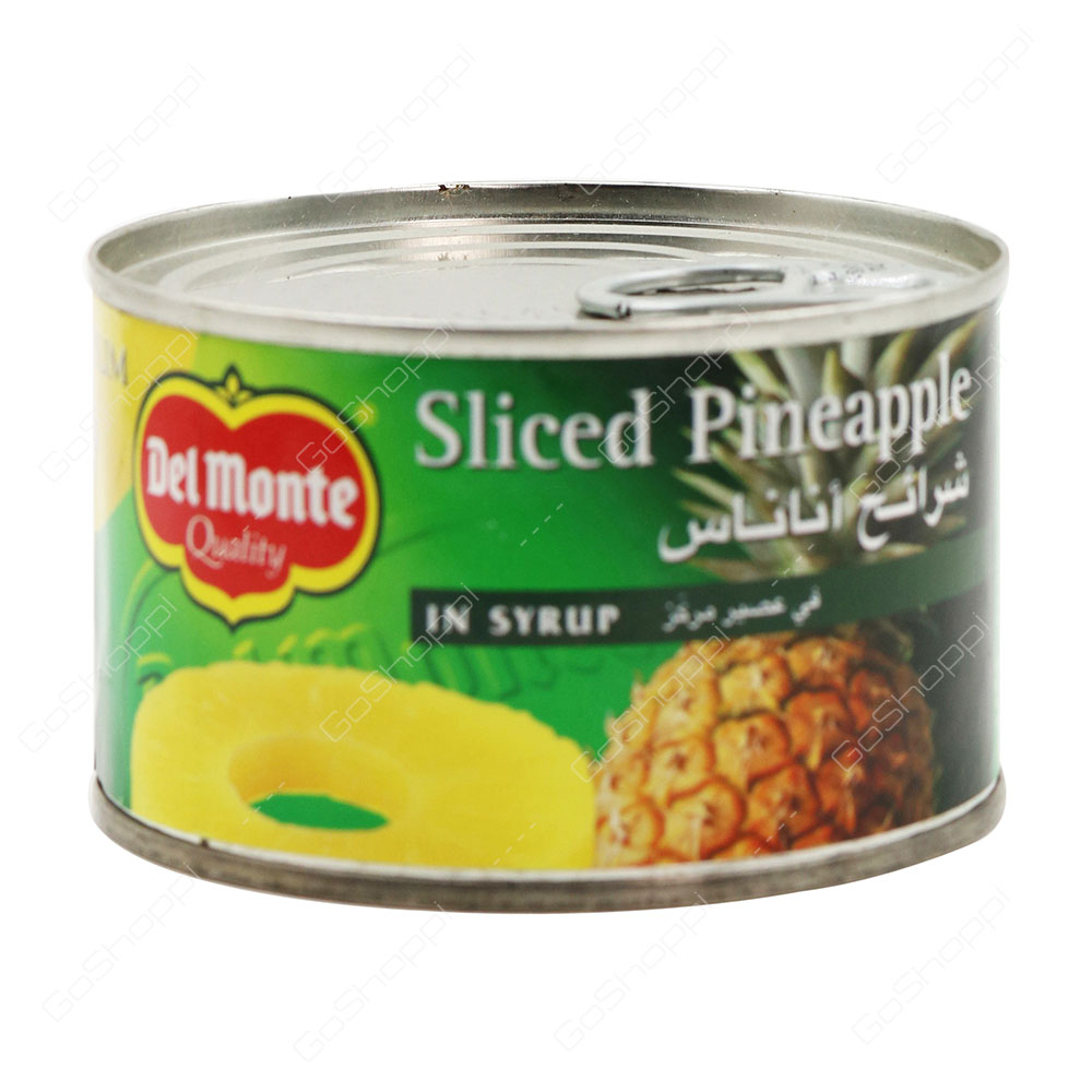 Del Monte Sliced Pineapple In Syrup 235 g