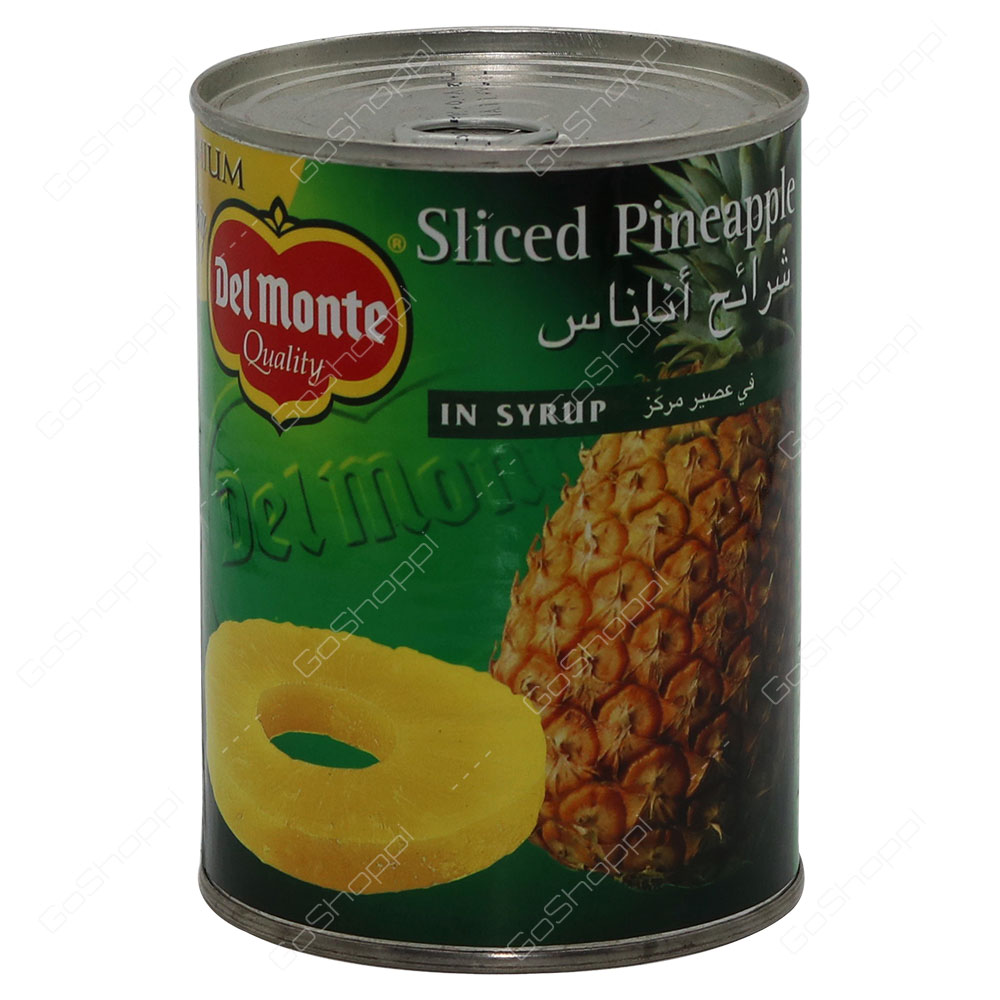 Del Monte Sliced Pineapple In Syrup 570 g