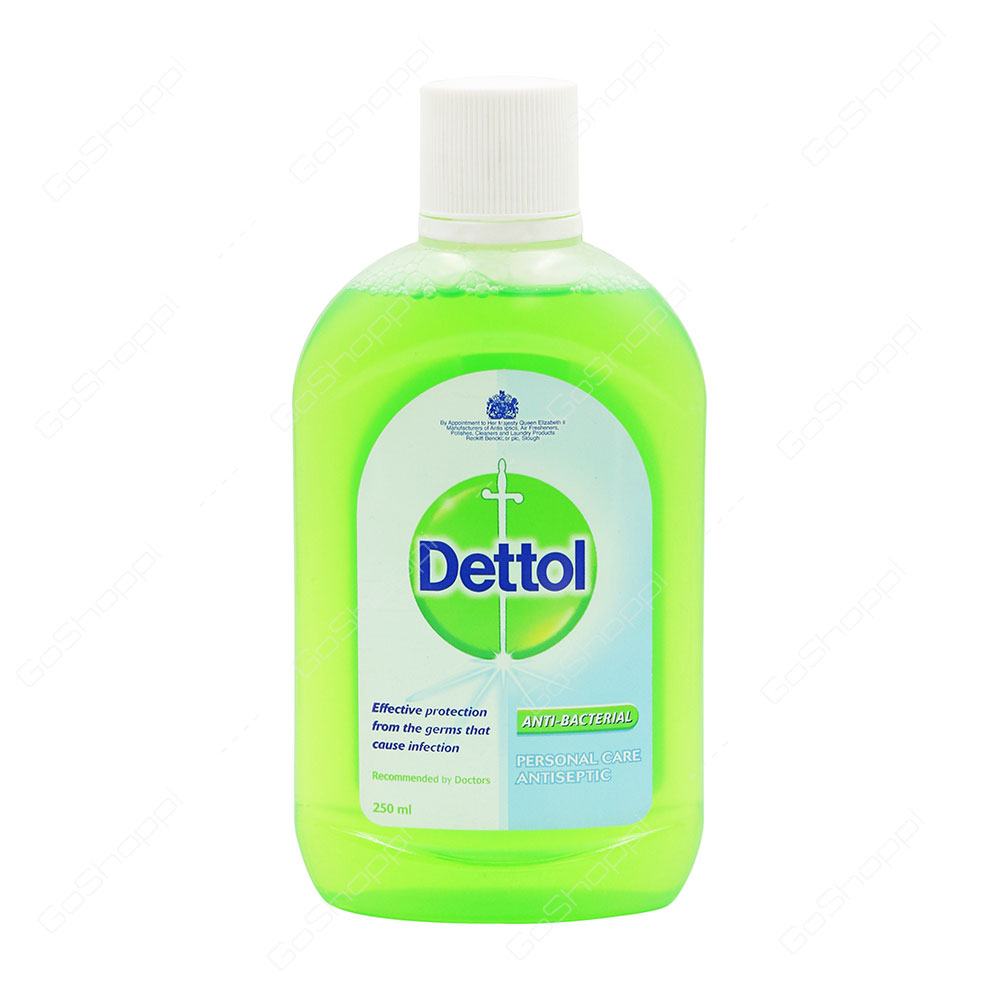 Dettol Anti Bacterial Personal Care Antiseptic 250 ml