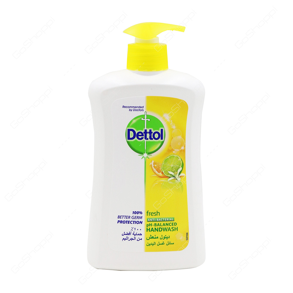 Dettol Fresh Anti Bacterial Hand Wash 400 ml