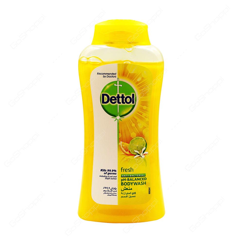 Dettol Fresh Anti Bacterial PH Balanced Bodywash 250 ml