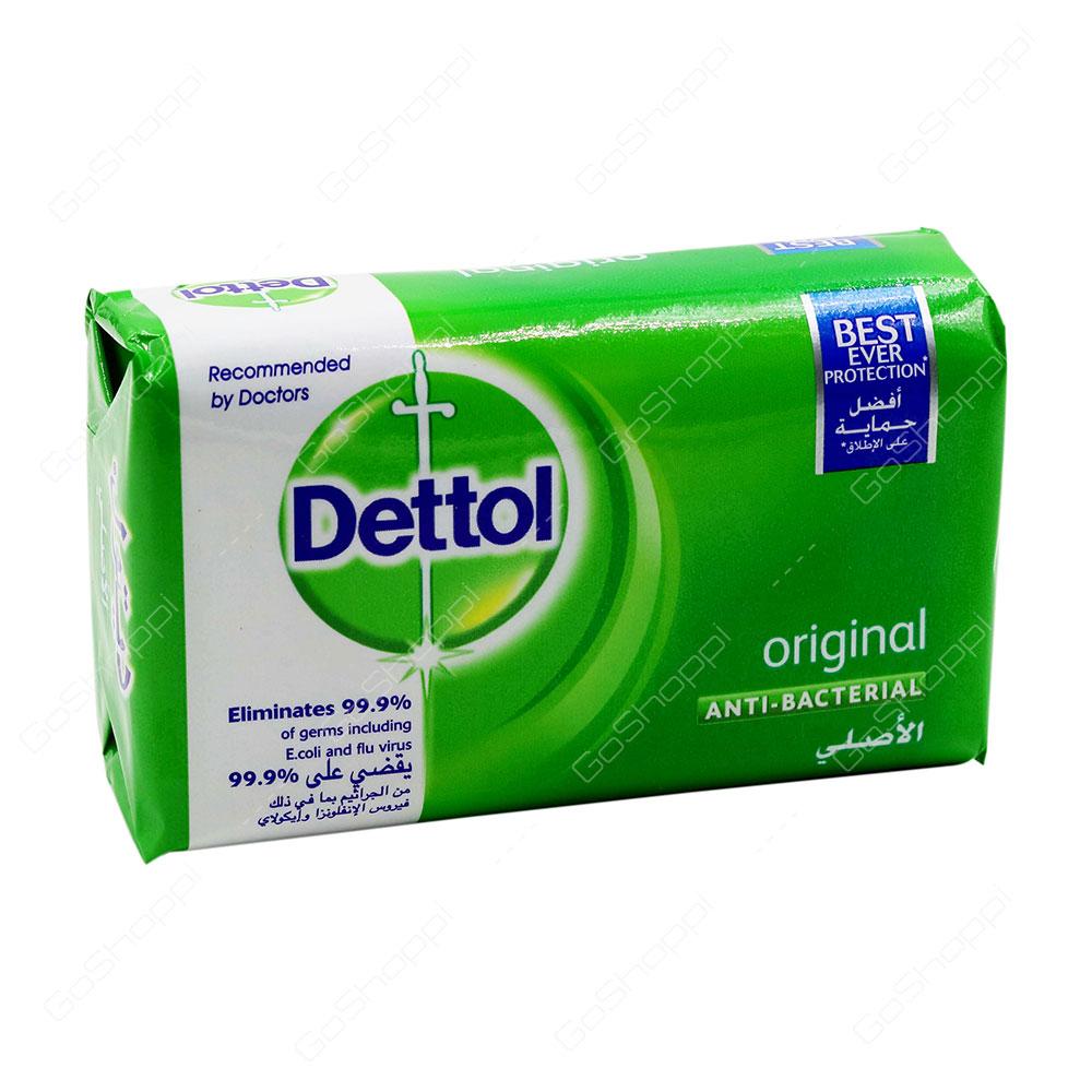 Dettol Original Anti Bacterial Soap 165 g