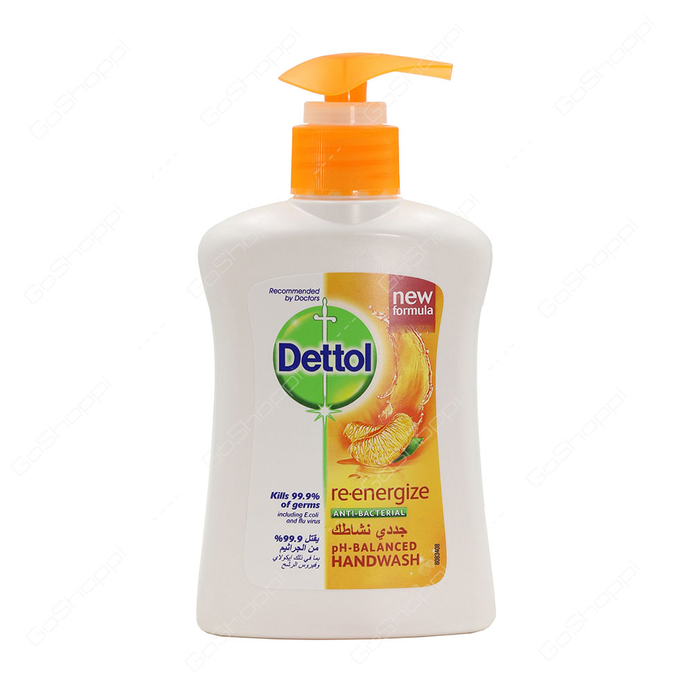 Dettol Re Energize Anti Bacterial Hand Wash 200 ml