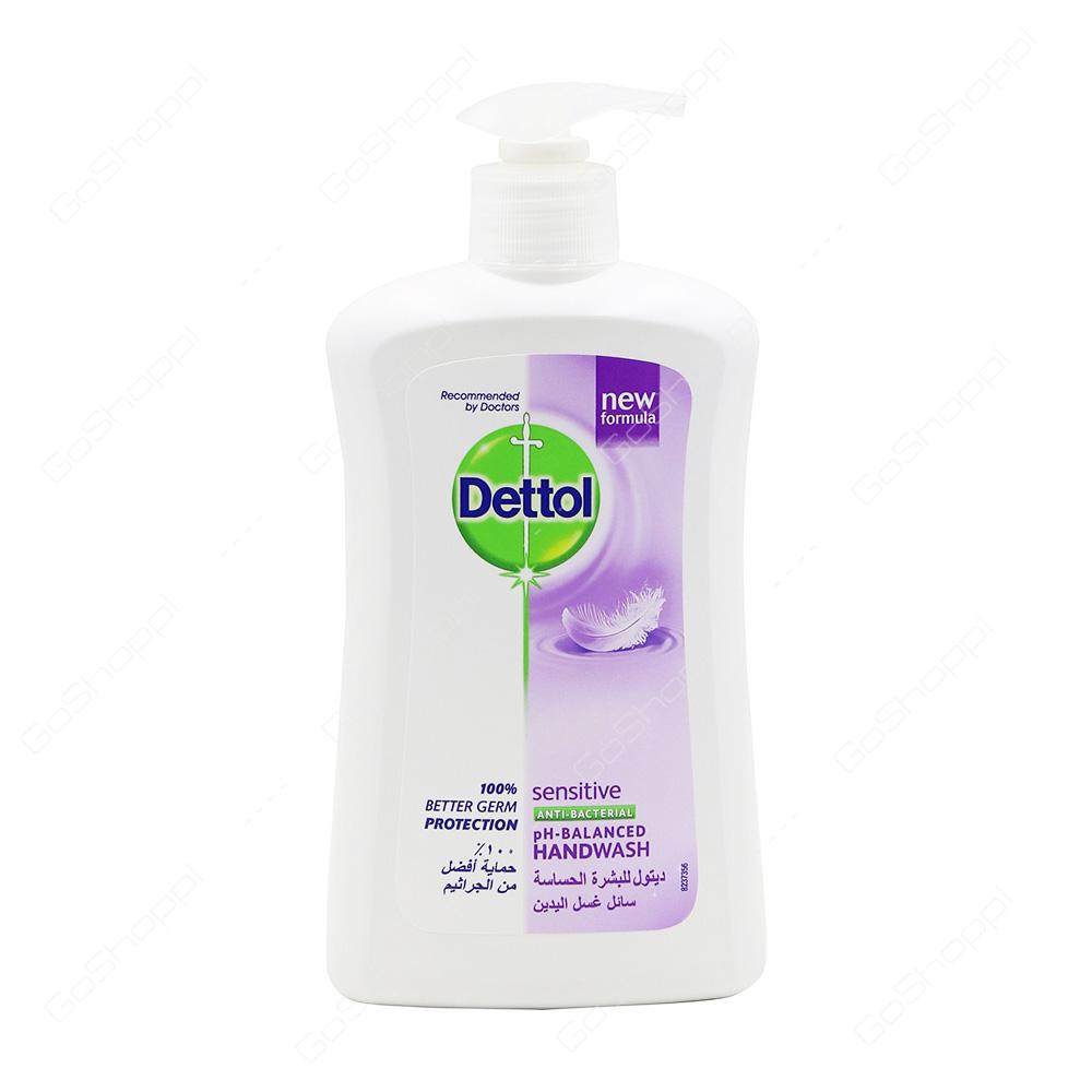 Dettol Sensitive Antibacterial Handwash 400 ml
