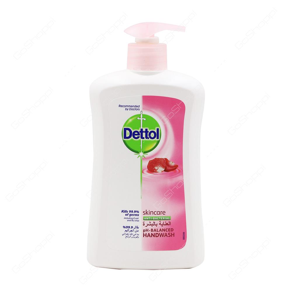 Dettol Skincare Anti Bacterial Hand Wash 400 ml