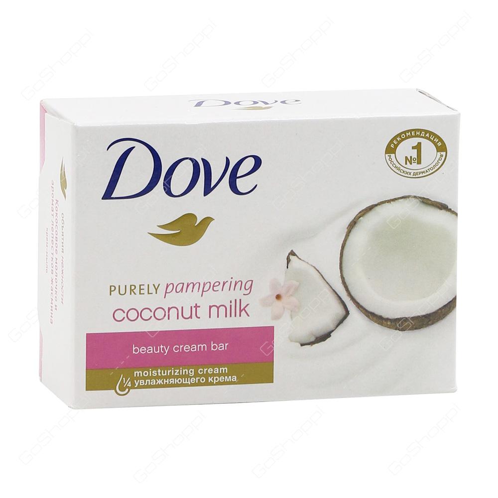 Dove Coconut Milk Beauty Cream Bar 135 g