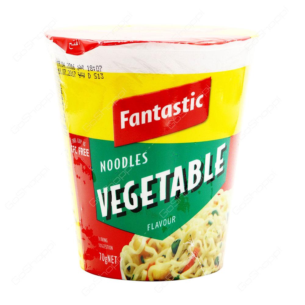 Fantastic Vegetable Flavour Noodles 70 g