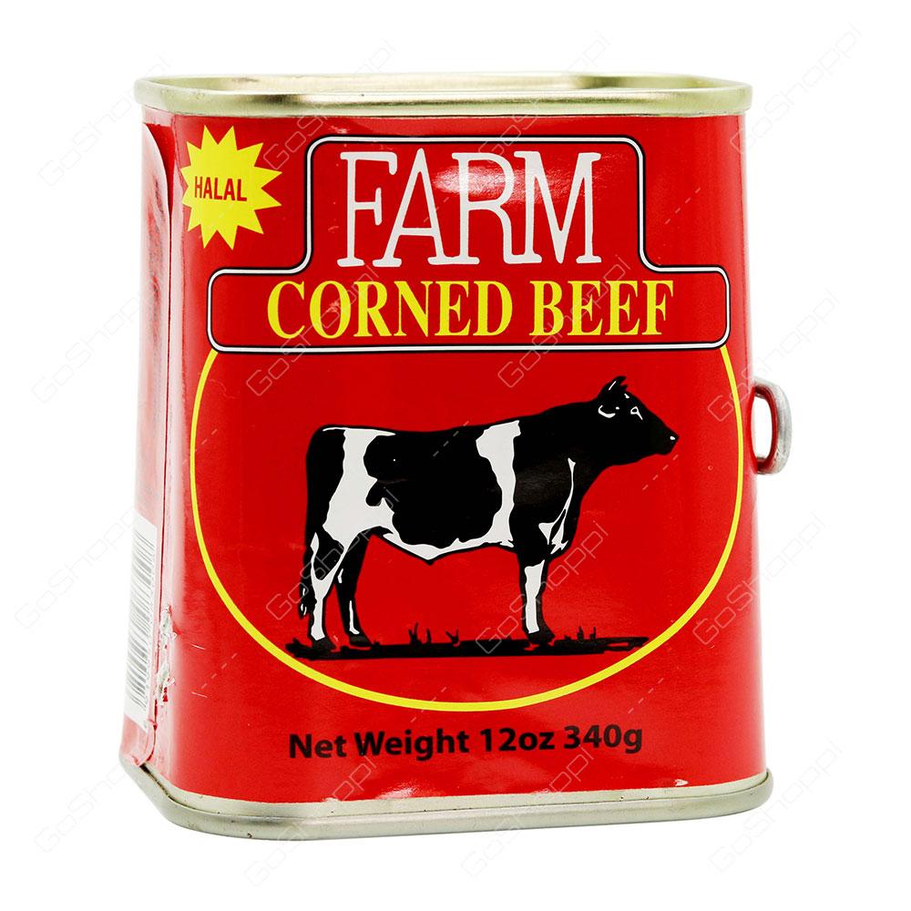 Farm Corned Beef 340 g
