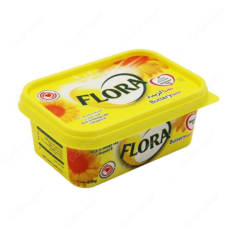 Flora Buttery Taste 250 g