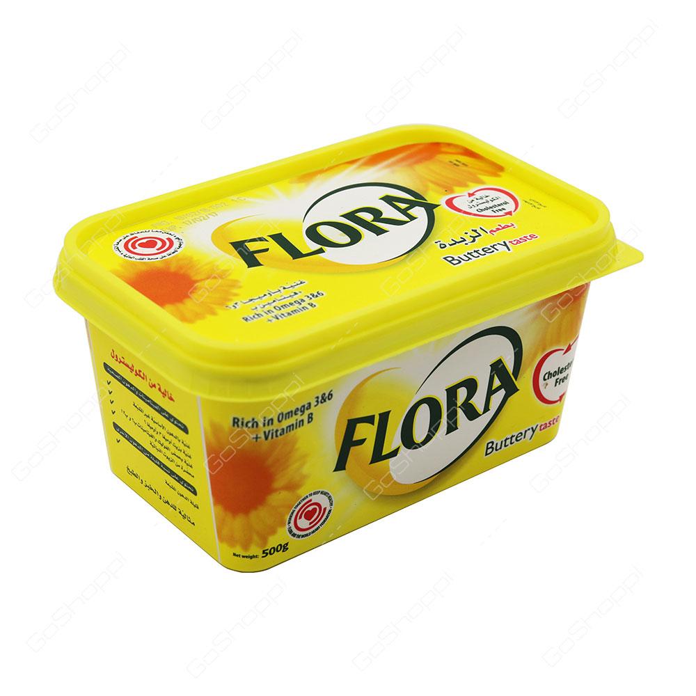 Flora Buttery Taste 500 g