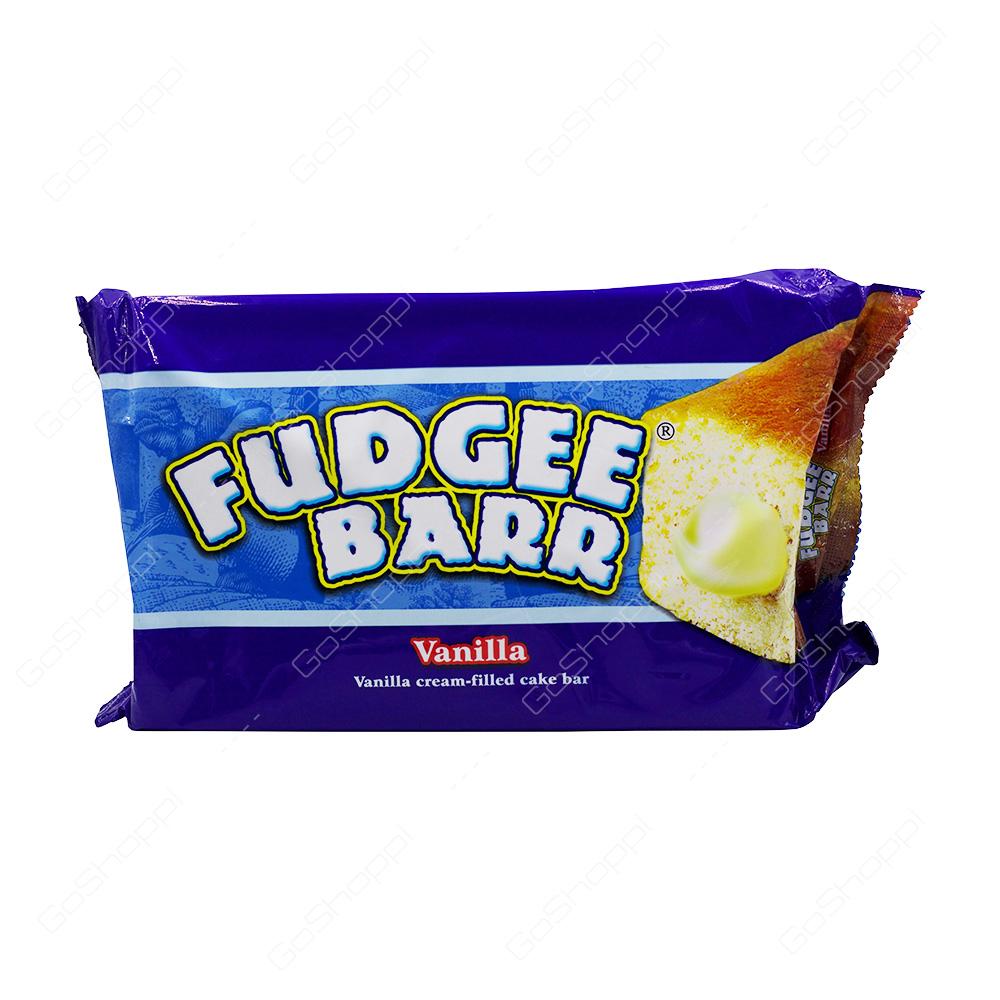 Fudgee Barr Vanilla Cream Filled Cake Bar 10X39 g