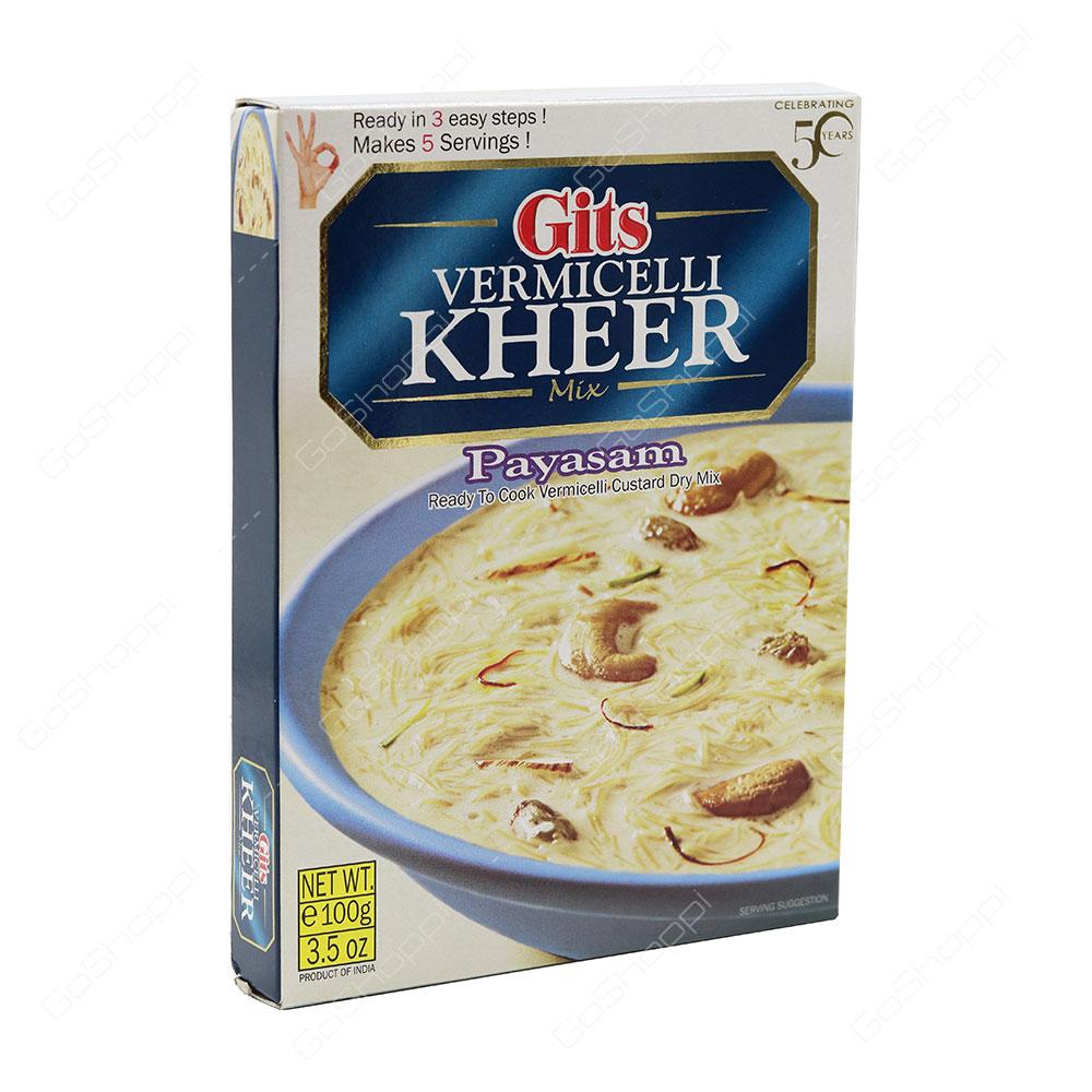 Gits Vermicelli Kheer Mix Payasam 100 g