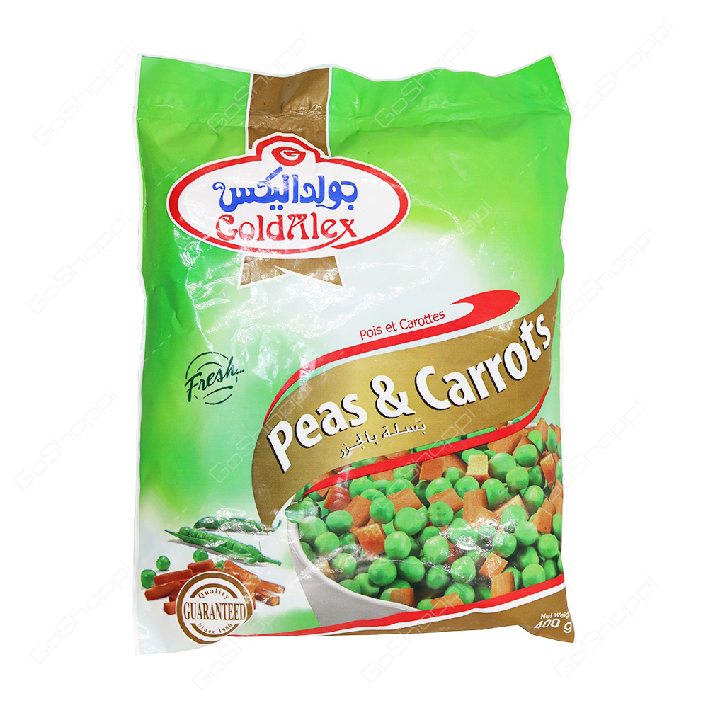 Gold Alex Peas and Carrots 400 g