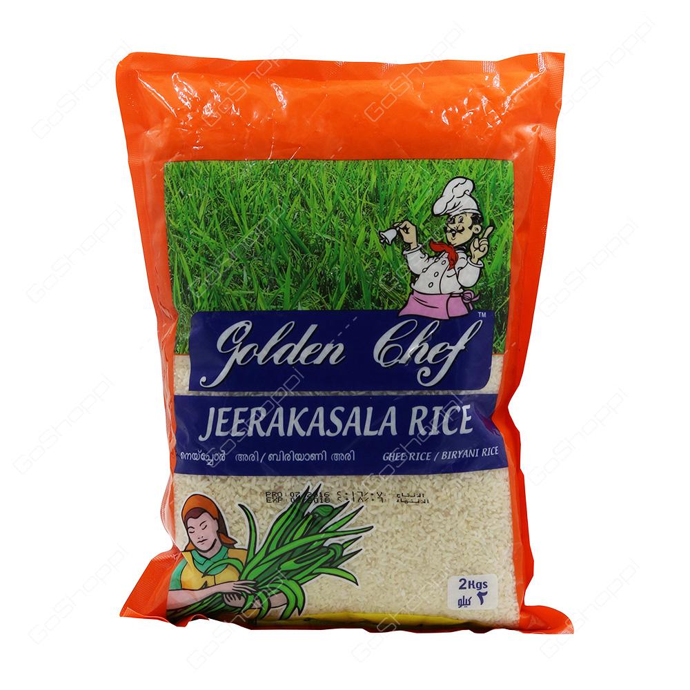 Golden Chef Jeerakasala Rice 2 kg