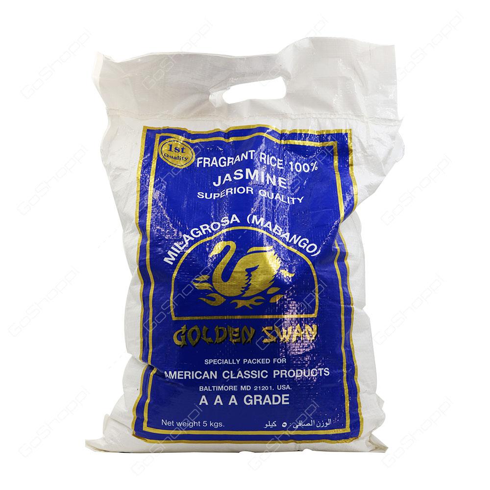 Golden Swan Milagrosa Jasmine Rice 5 kg