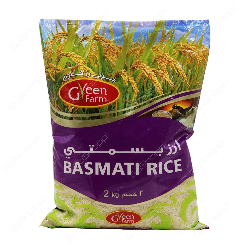 Green Farm Basmathi Rice 2 kg