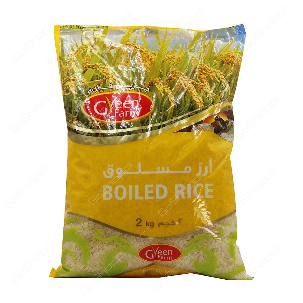 Green Farm Boiled Rice 2 kg