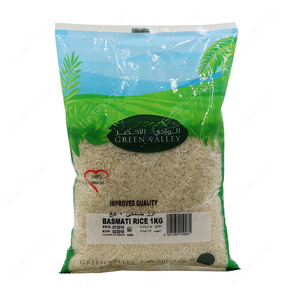 Green Valley Basmati Rice 1 kg