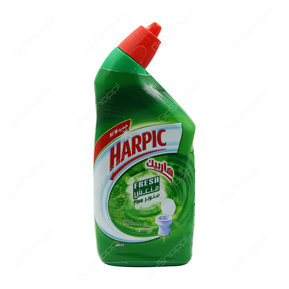 Harpic Fresh Pine Toilet Cleaner 500 ml