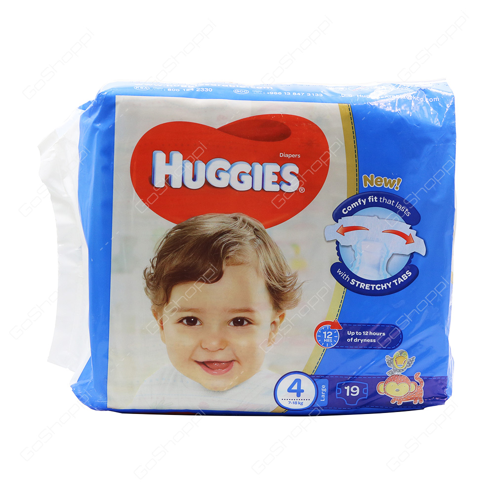 Huggies Diapers Size 4 19 Diapers