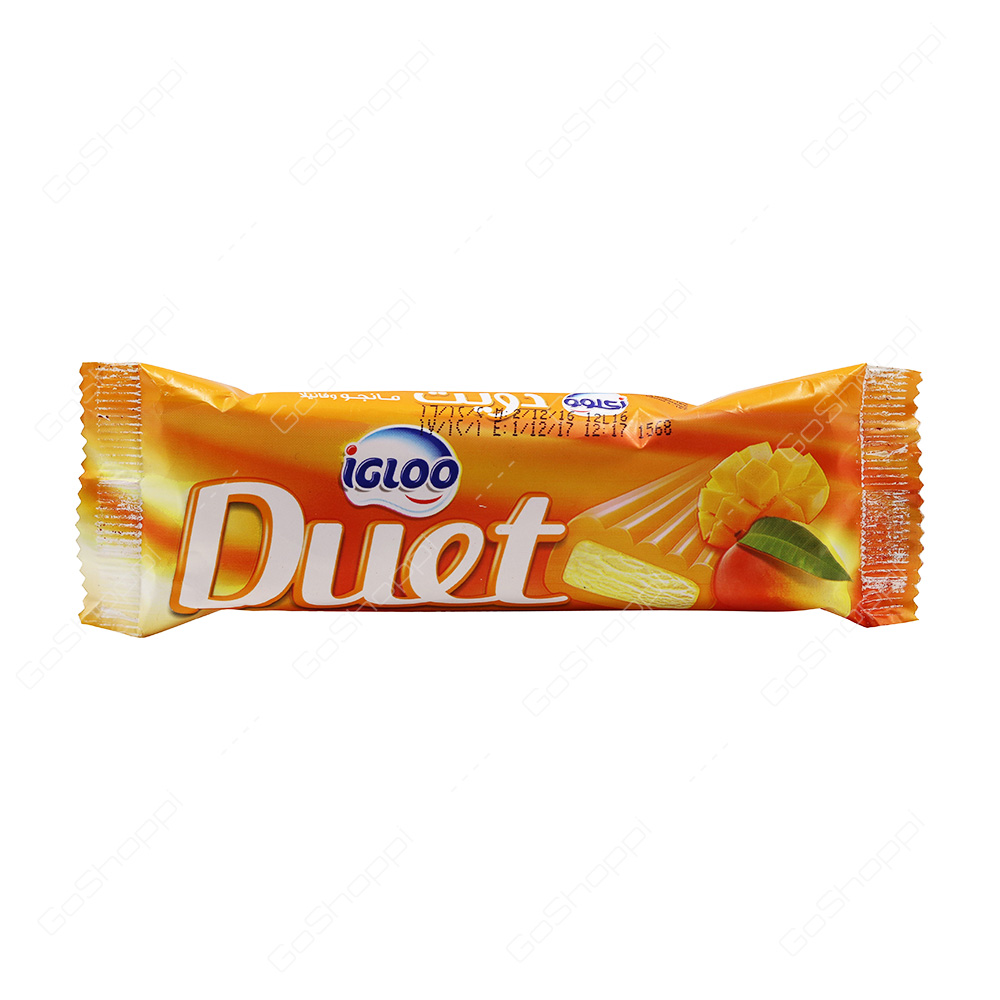 Igloo Duet Mango Icecream 65 g