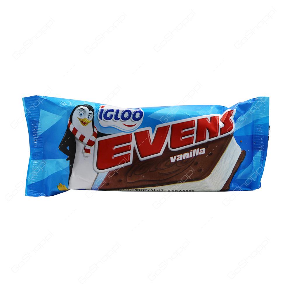 Igloo Evens Vanilla Icecream 90 ml