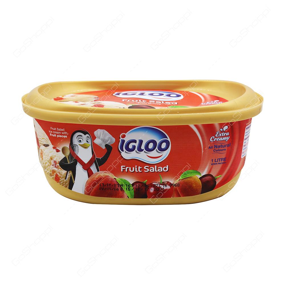 Igloo Fruit Salad Icecream 1 l