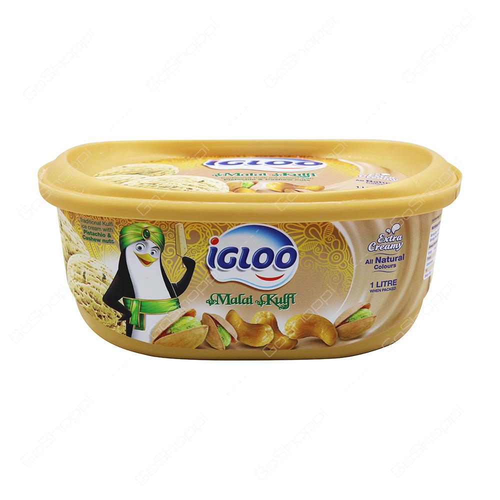 Igloo Malai Kulfi Icecream 1 l