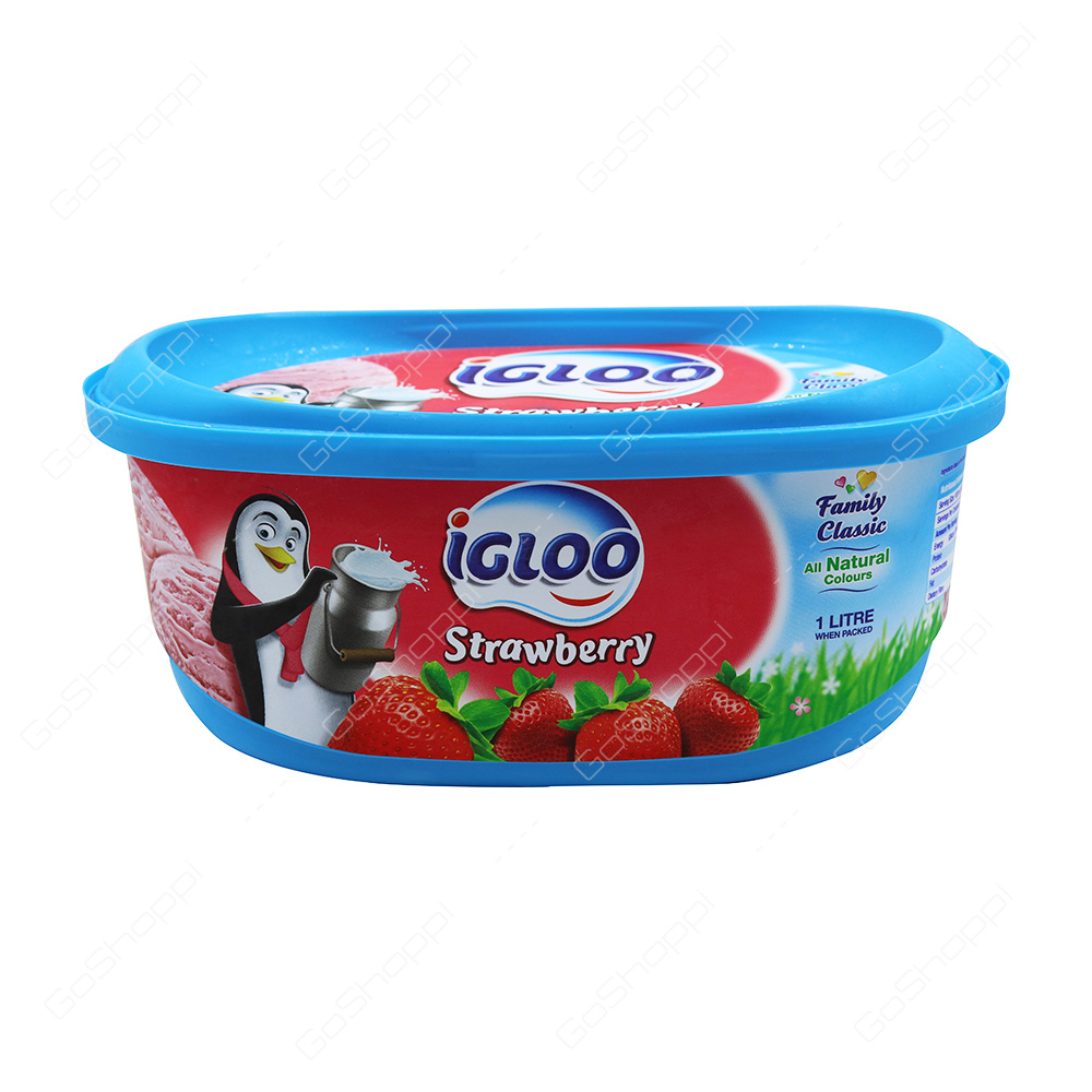Igloo Strawberry Icecream 1 l