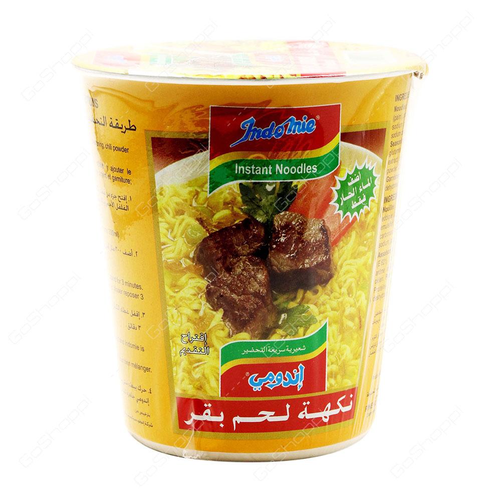 Indomie Instant Noodles Beef Flavour 60 g