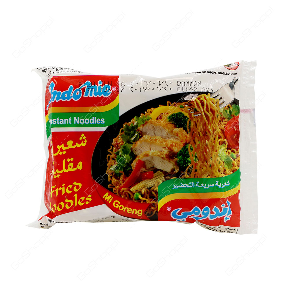 Indomie Instant Noodles Fried Noodles Mi Goreng 80 g