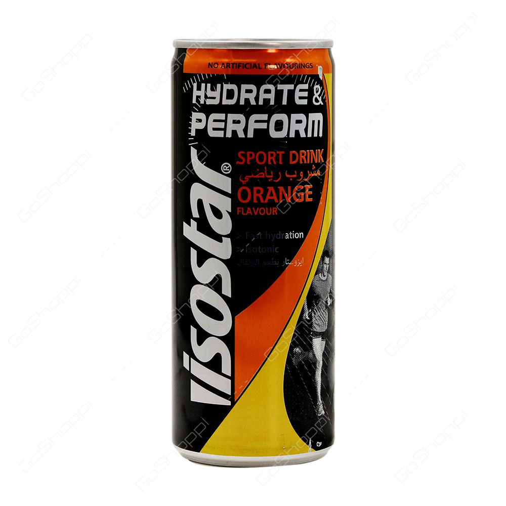 Isostar Hydrate And Perform Sport Drink Orange Flavour 250 ml
