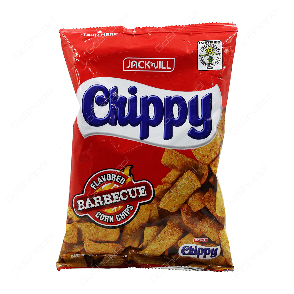 Jack n Jill Chippy Barbecue Flavoured Corn Chips 110 g