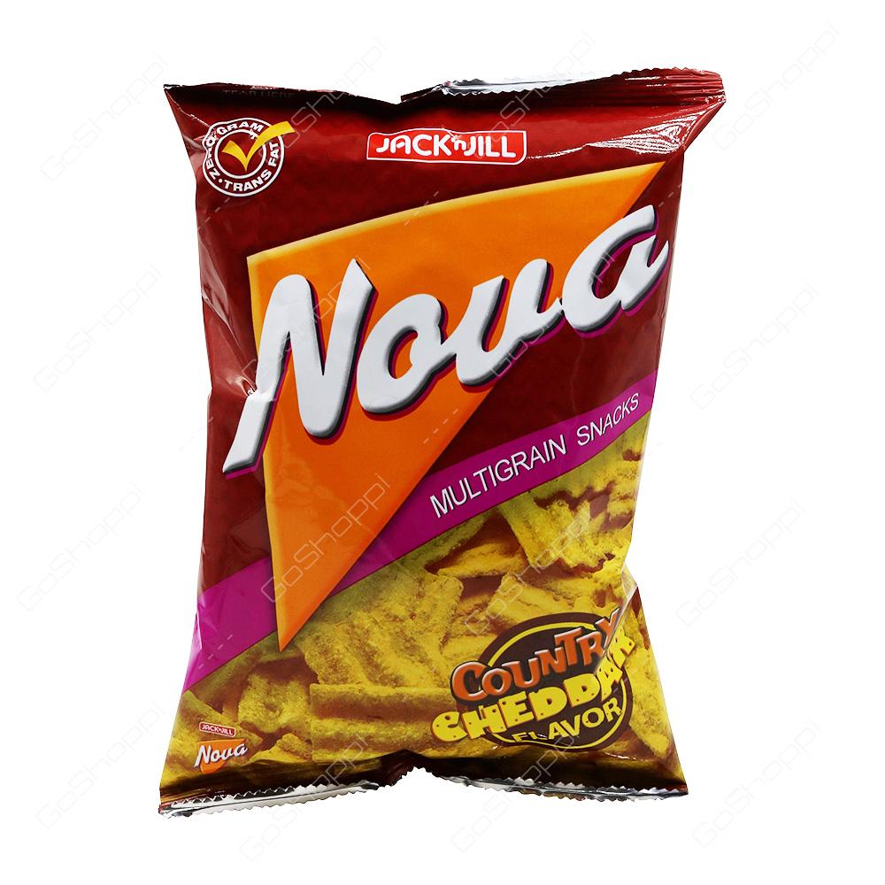 Jack n Jill Nova Multigrain Snacks Country Cheddar Flavor 78 g