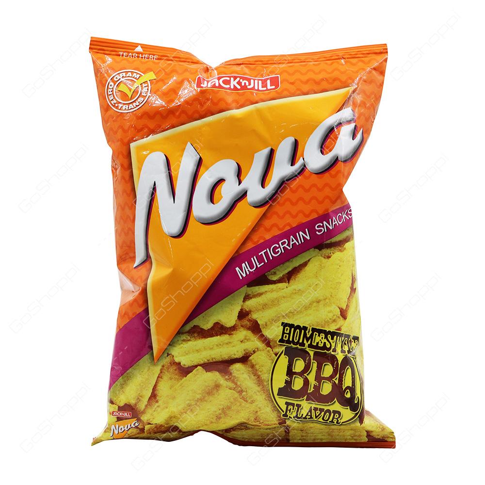 Jack n Jill Nova Multigrain Snacks Homestyle BBQ Flavor 78 g