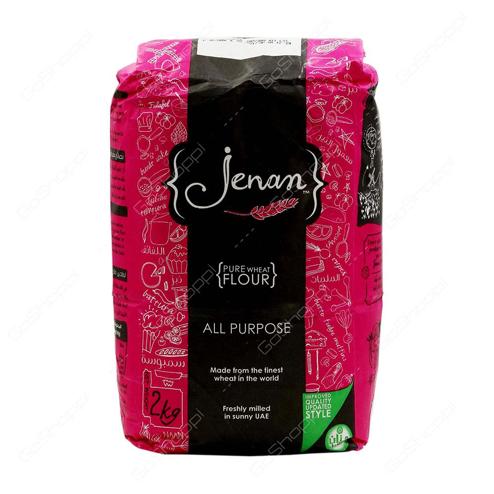 Jenan All Purpose Pure Wheat Flour 2 kg