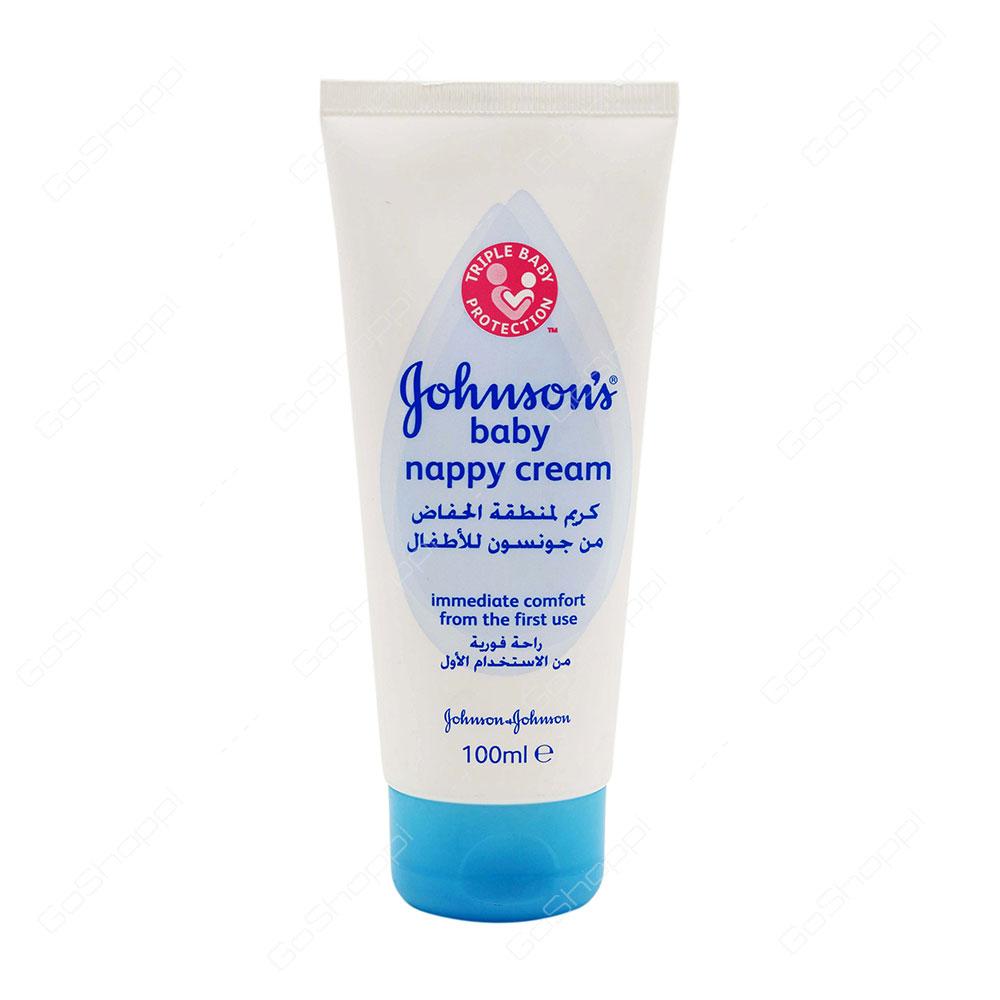 Johnsons Baby Nappy Cream 100 ml