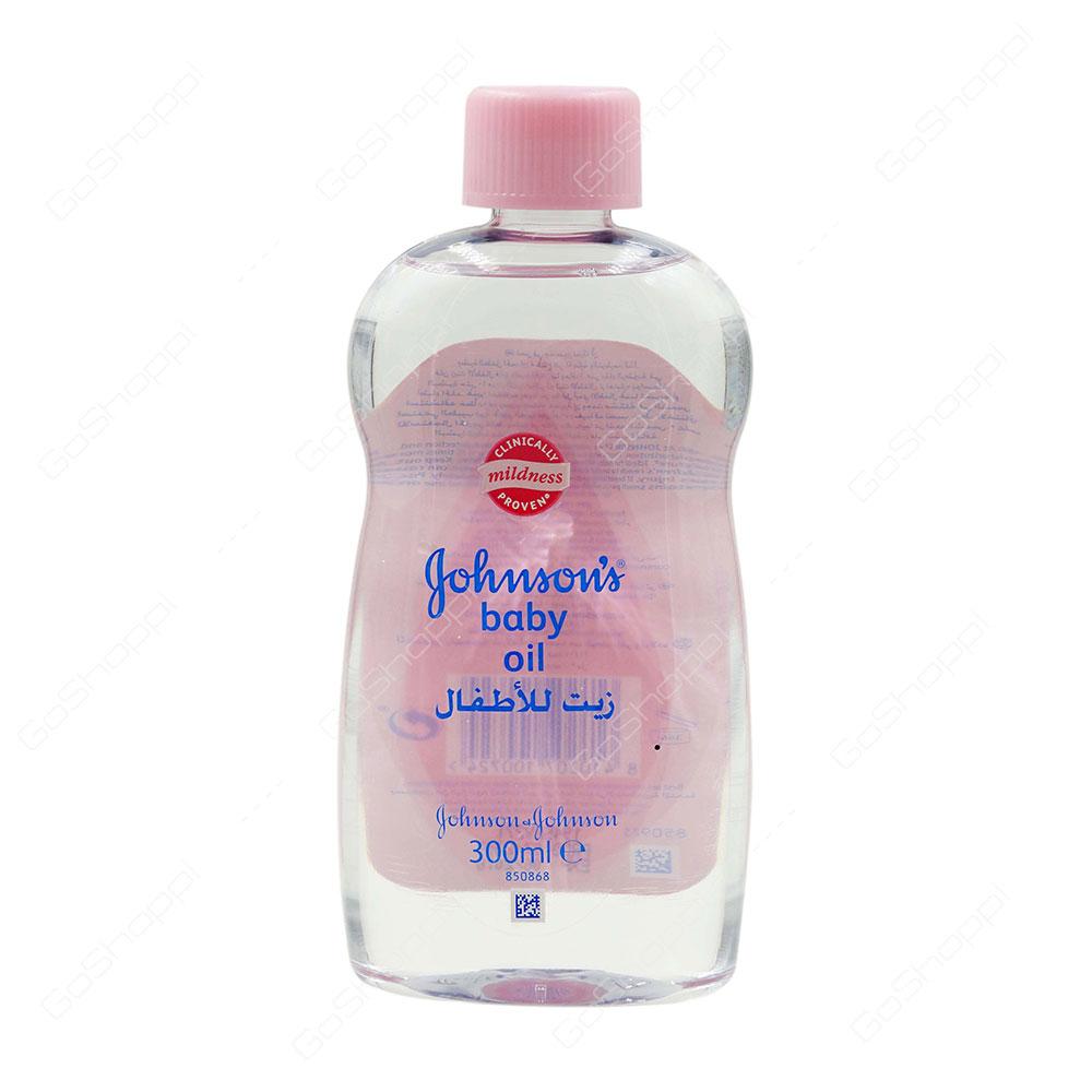 Johnsons Baby Oil 300 ml