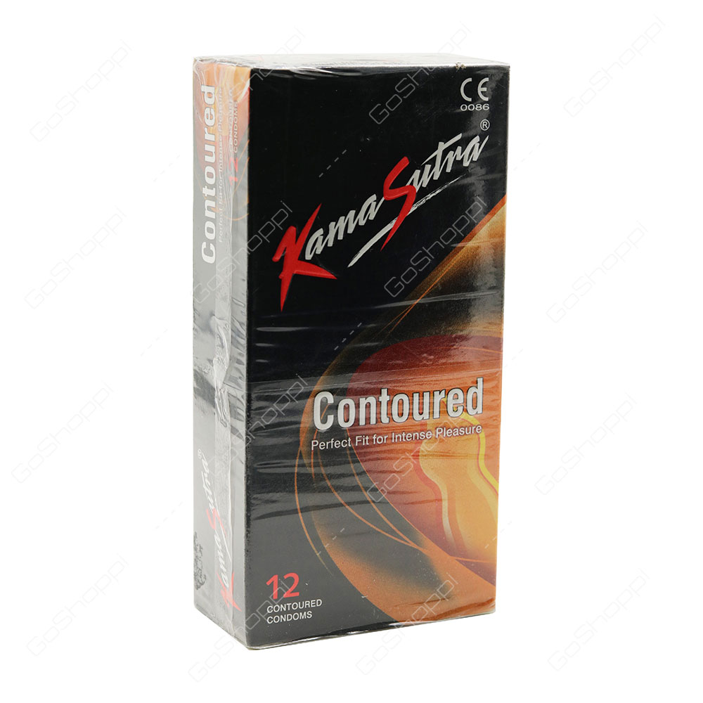 Kama Sutra Contoured Condoms 12 pcs