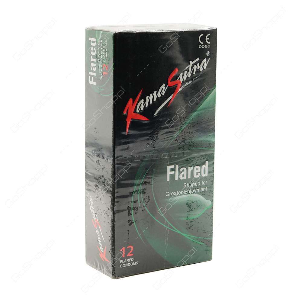 Kama Sutra Flared Condoms 12 pcs