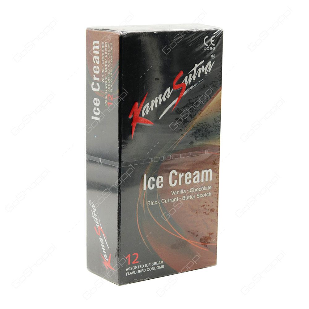 Kama Sutra Ice Cream Condoms 12 pcs