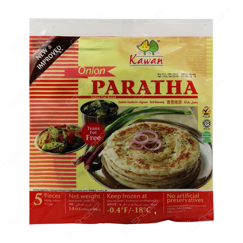 Kawan Onion Paratha Trans Fat Free 5 pcs