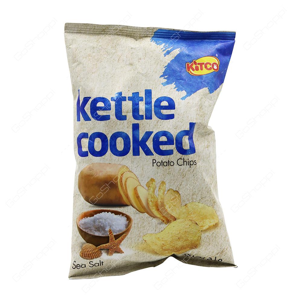 Kitco Kettle Cooked Potato Chips Sea Salt 40 g