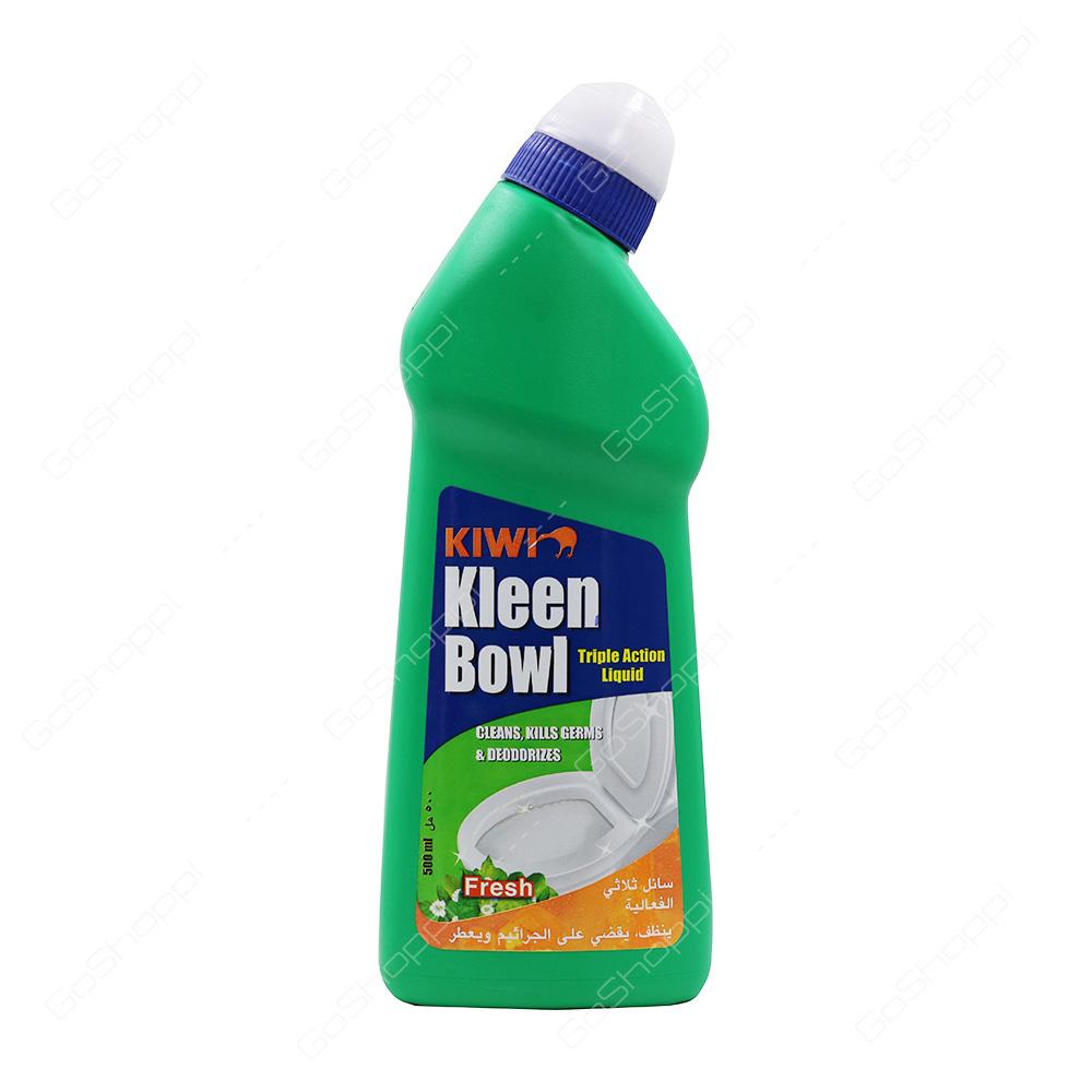 Kiwi Kleen Bowl Triple Action Liquid Fresh 500 ml