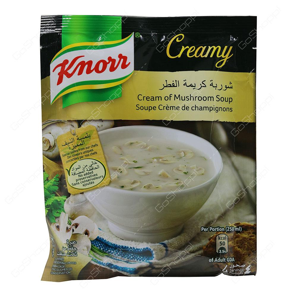 Knorr Cream of Mushroom Soup 250 ml