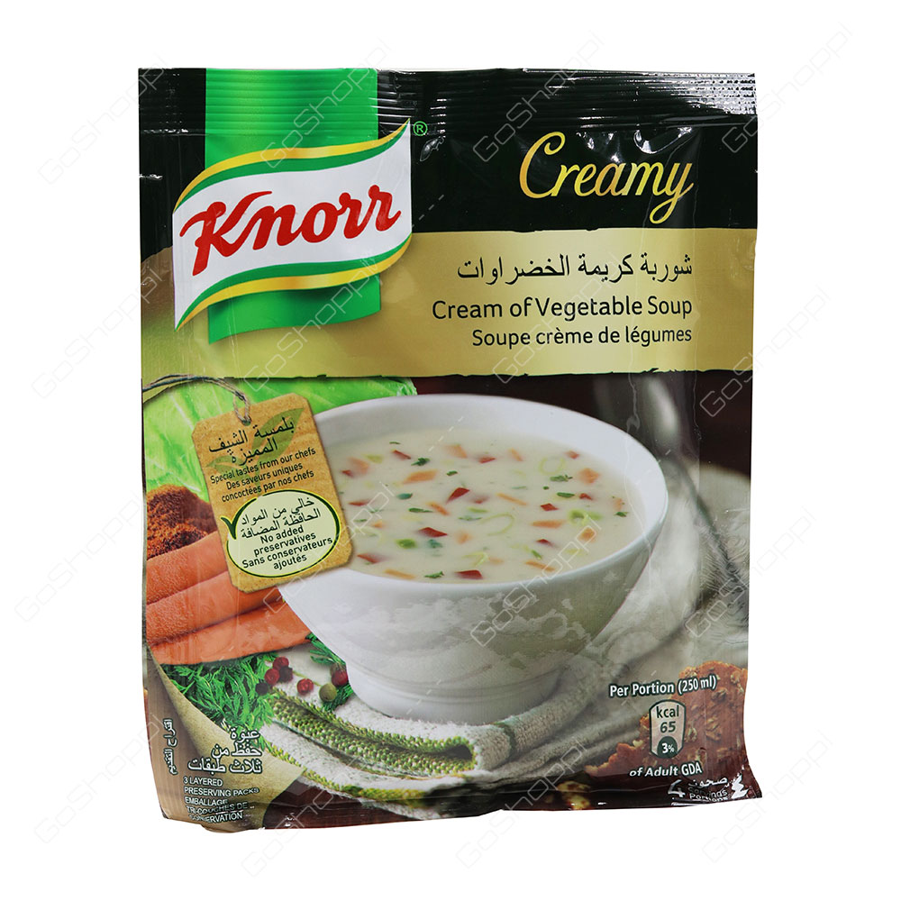 Knorr Creamy Cream of Vegetable Soup 79 g
