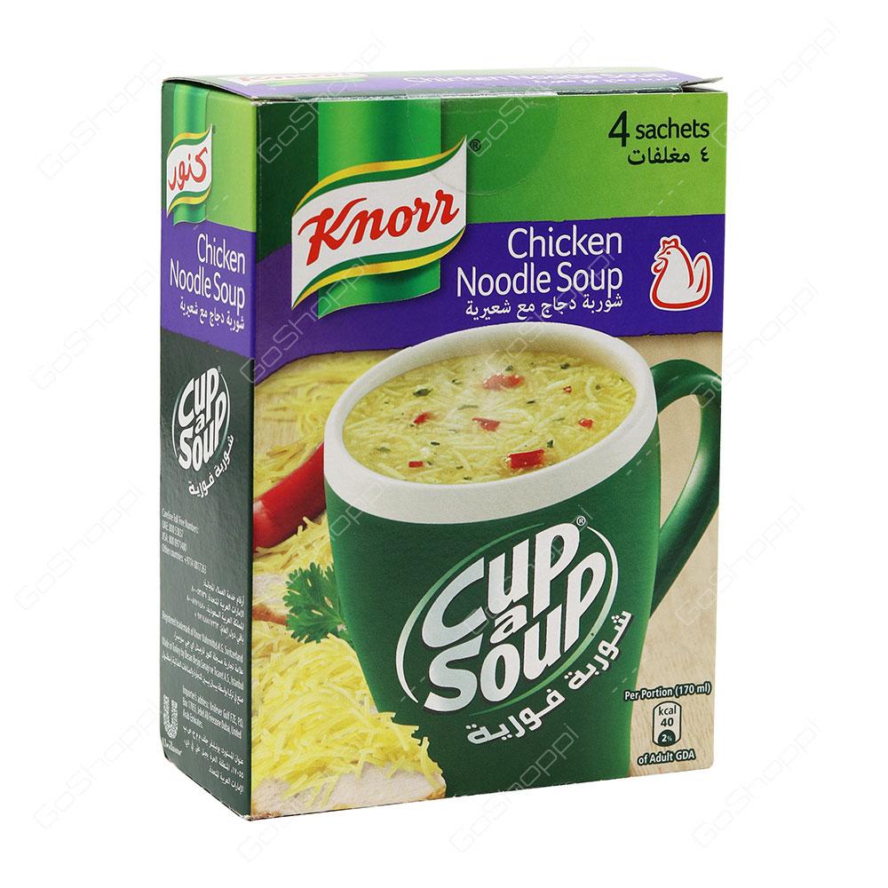 Knorr Cup a Soup Chicken Noodle Soup 4 Sachets