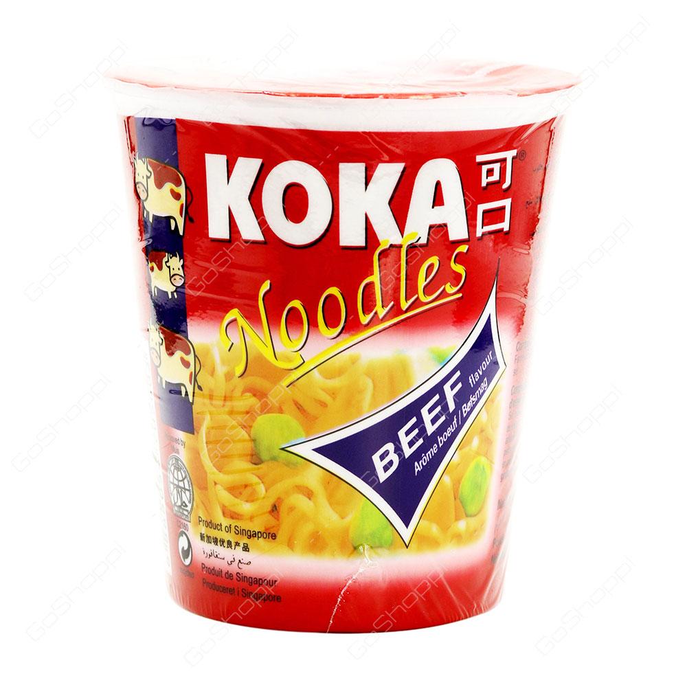 Koka Beef Flavour Instant Noodles 70 g