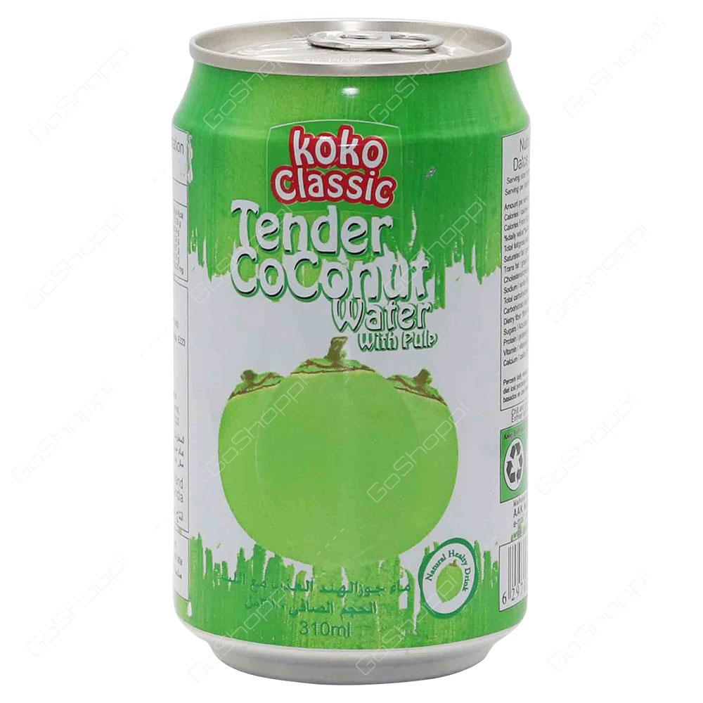 Koko Classic Tender Coconut Water With Pulp 310 ml