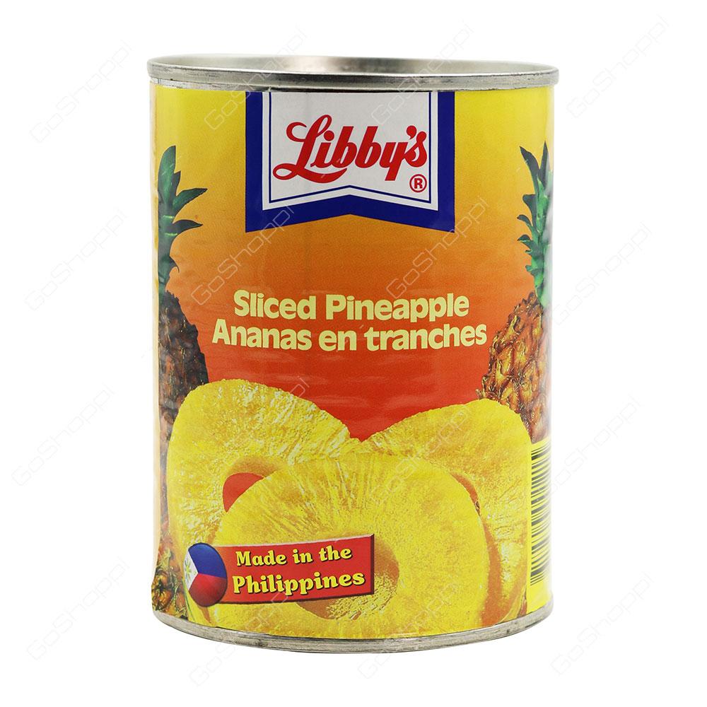 Libbys Sliced Pineapple 570 g